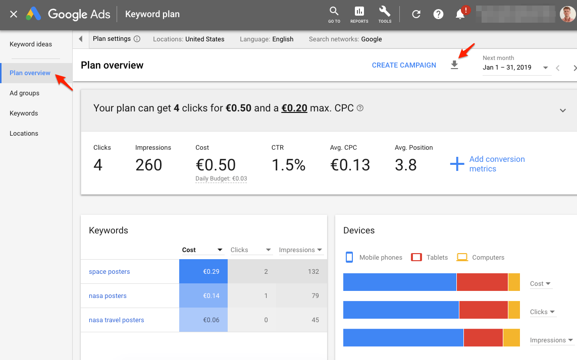 Google Adwords Keywords How To Do Keyword Research For Google Ads Store Growers