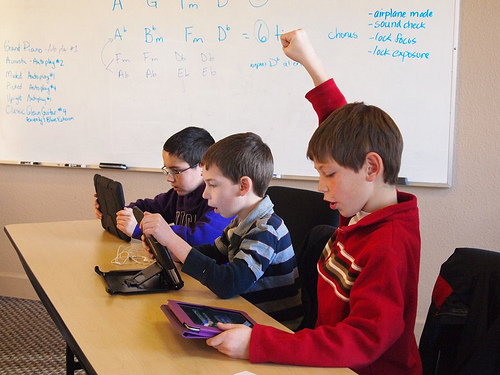 iPad niños kids