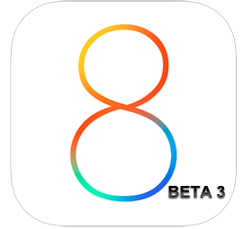 iOS 8 logo beta 3