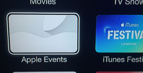 Apple events TV