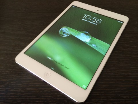 wallpaper iPad gota rocío hoja diag