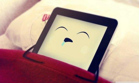 iPad noche