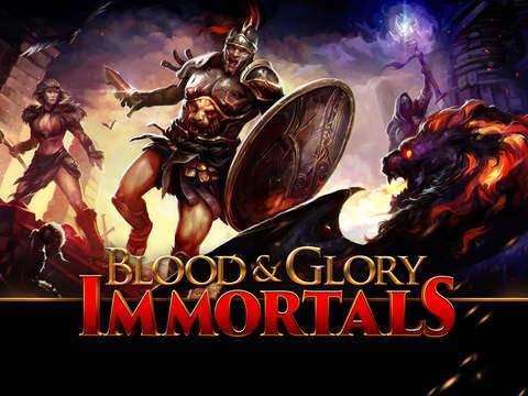Blood & Glory Immortals