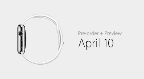 preorder watch