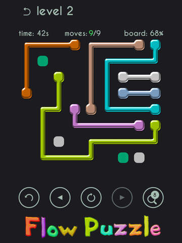 Flow Puzzle Unblock with Bridges - A Free game by Top Best Games