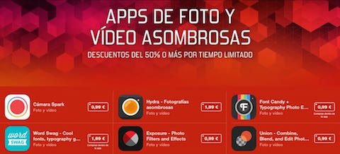 apps foto vídeo asombrosas
