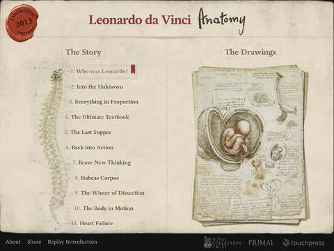 Leonardo da Vinci- Anatomy