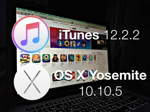iTunes OS X Yosemite