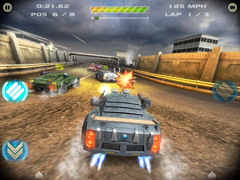 Battle Riders - Car Combat Racing
