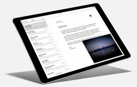iPad Pro mail