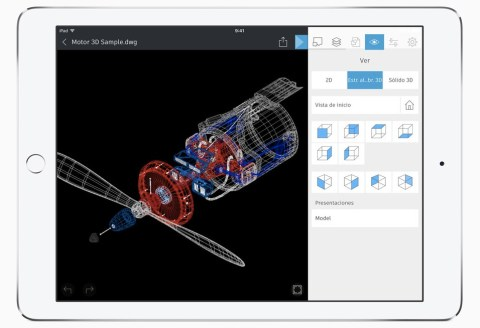 iPad Pro Autocad