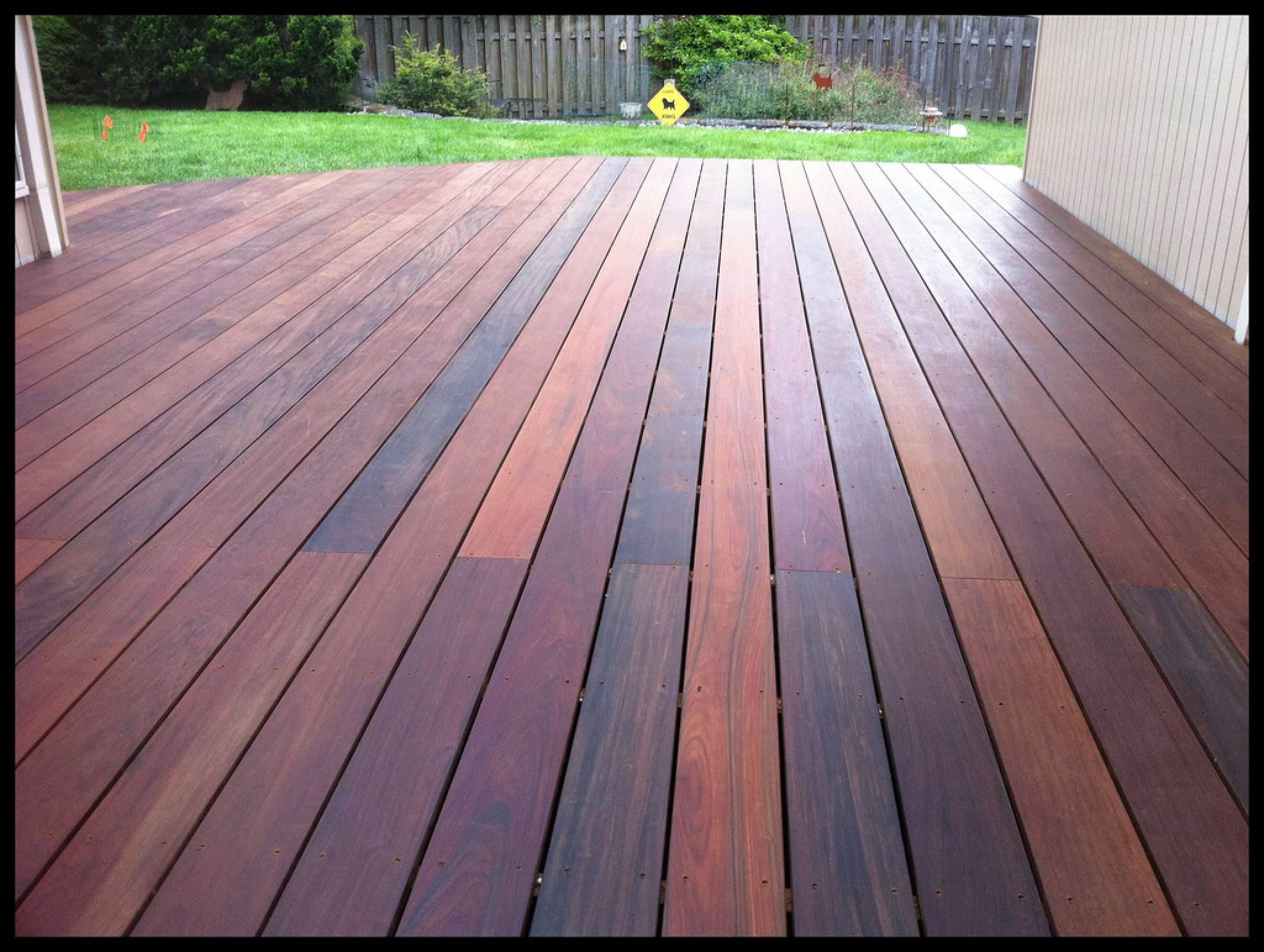 Ipe Wood Problems Home Decor