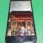【修理実績No.73】iPhone6のフロントパネルガラス割れ