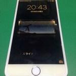 【修理実績No.96】iPhone6Plusのフロントパネル液晶割れ