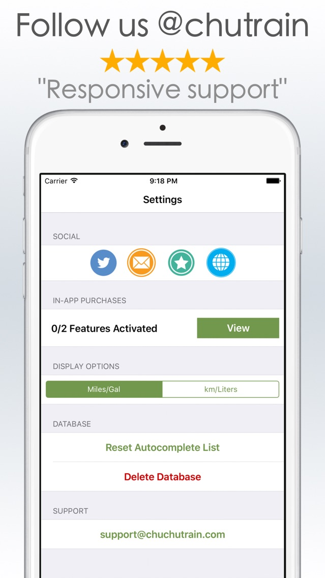 Gas Mileage Calculator and Log App for iPhone - Free Download Gas