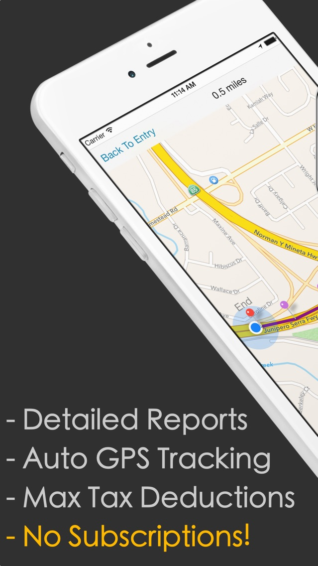 MEL Mileage  Expense Tracker App for iPhone - Free Download MEL