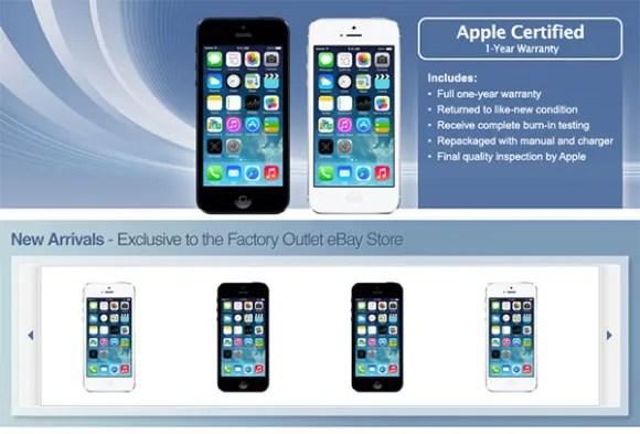 AppleEbayStore Appleが米国最大のオークションサイトeBayと提携し、返品され