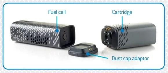 燃料電池式のモバイルバッテリー「Upp」