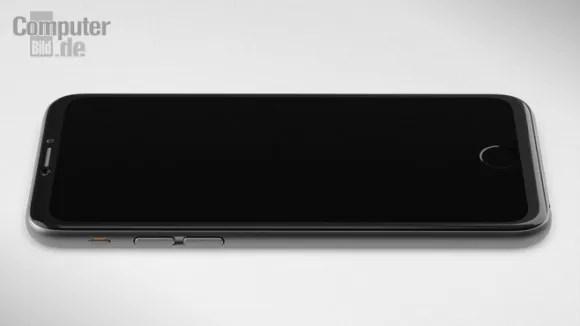 iPhone 7のコンセプトデザイン公開 画面の一部にホームボタン