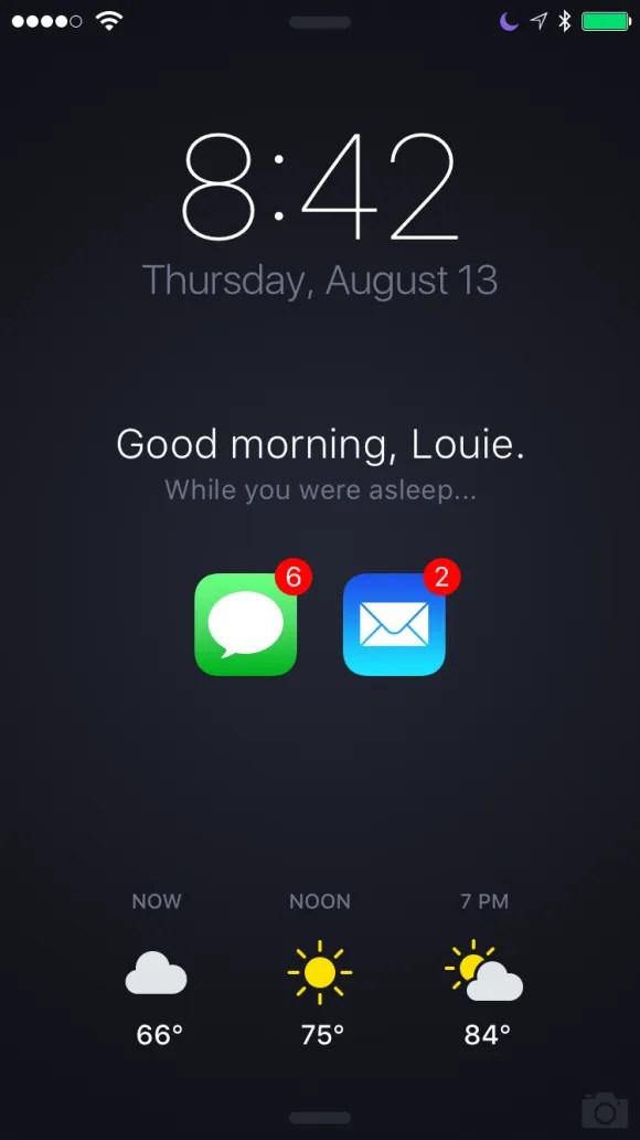 Cute Home Screen Wallpaper For Android アップルの元デザイナー、iphoneの新たなロック画面のデザインを提案 Iphone Mania