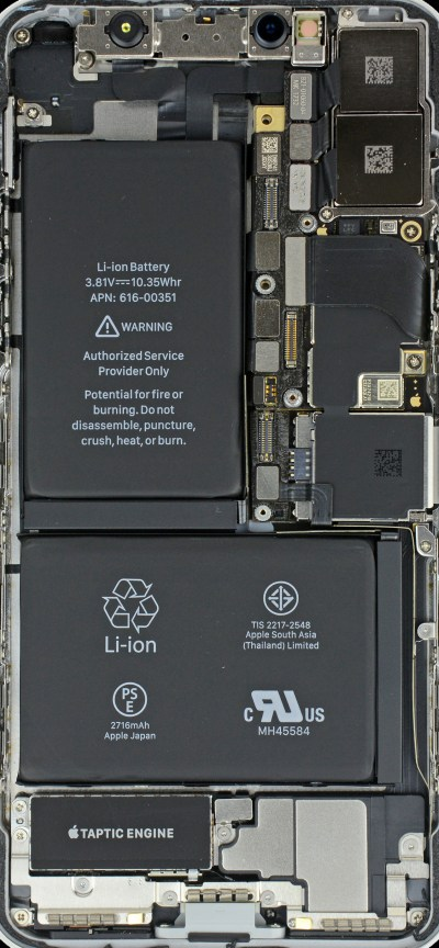 iPhone Xの中が丸見え!本体内部画像の壁紙をiFixitが公開 - iPhone Mania