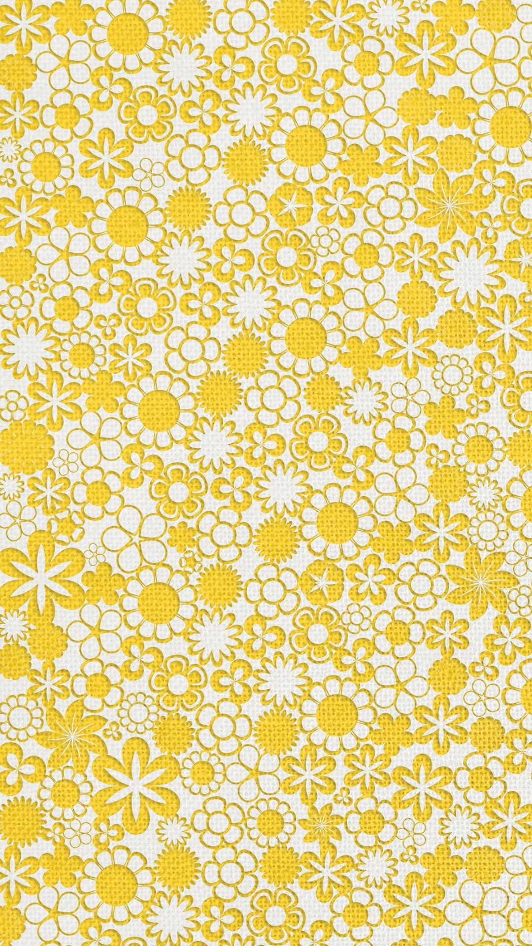 Game Cute Wallpaper Floral Yellow Iphone Wallpaper