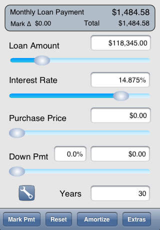 iPhone Giveaway of the Day - Morgulator - Mortgage Loan Calculator