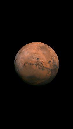 Mac Pro Fall Wallpaper 2017 Papers Co Ar07 Mars Red Dark Minimal Art Space Planet 33