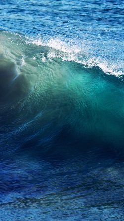 Free Fall Desktop Wallpaper For Mac Papers Co Nd24 Wave Sea Ocean Summer Blue 33 Iphone6