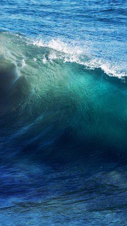Cute Wallpapers Ipad App Papers Co Nd24 Wave Sea Ocean Summer Blue 33 Iphone6