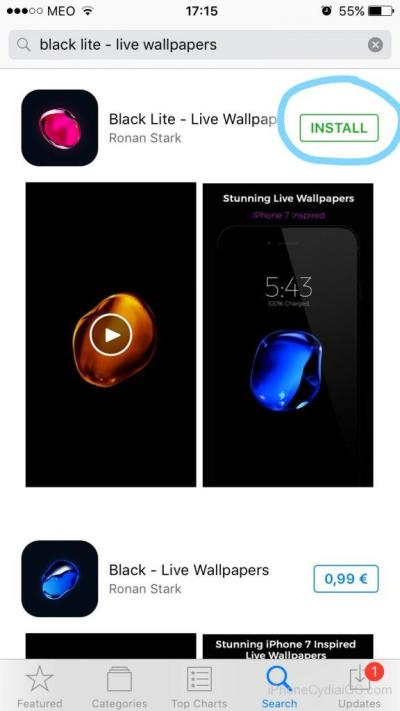 Download iPhone 7 LIVE Bubble Wallpapers on iOS 10 (No Jailbreak)