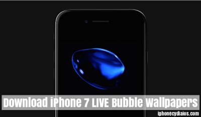 Download iPhone 7 LIVE Bubble Wallpapers on iOS 10 (No Jailbreak)