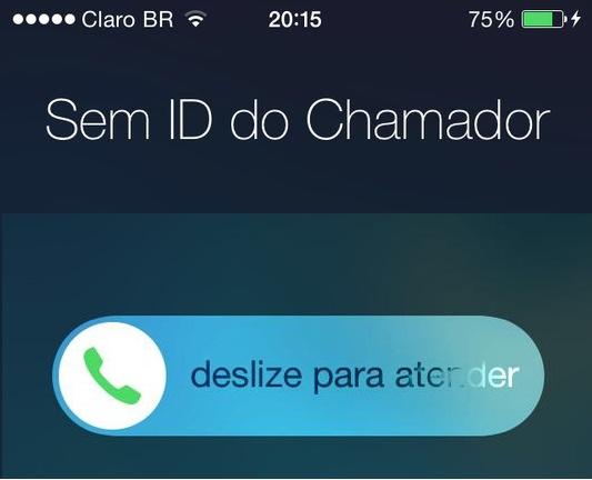 Ocultar número de telefone ao ligar