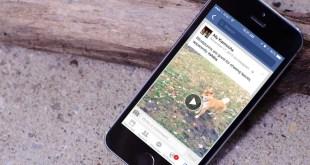 desabilitar reprodução automatica facebook iphone