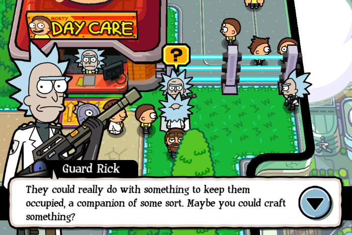 Image Capture Delete Photos Iphone What Item Do I Give Guard Rick In Pocket Mortys The