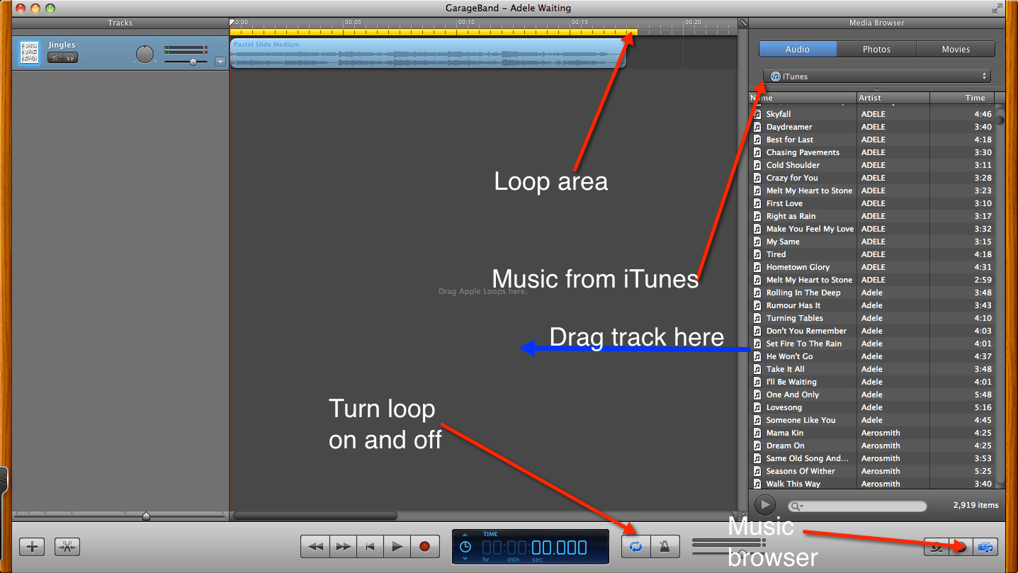 Garageband Fade In How To Creating A Custom Ringtone With Garageband