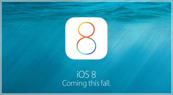 اللغة العربية ونظام iOS 8