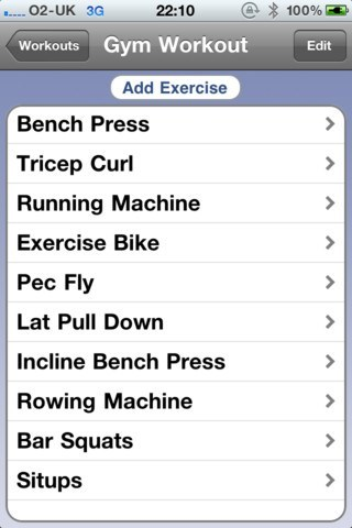 10 Best Gym iPhone Applications -