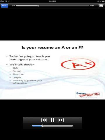 How To Prepare Your Resume on iPhone 4 Resume Apps - iPhoneNess