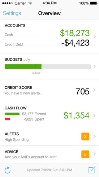 7 Quality Budget Trackers for iPhone  iPad - - budget trackers