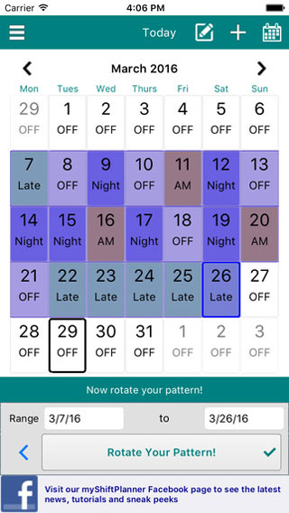 7 Shift Planning Apps for iPhone  iPad -