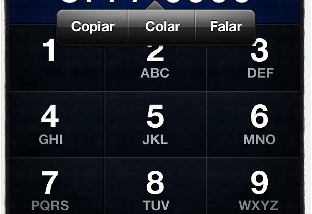 Teclado iPhone