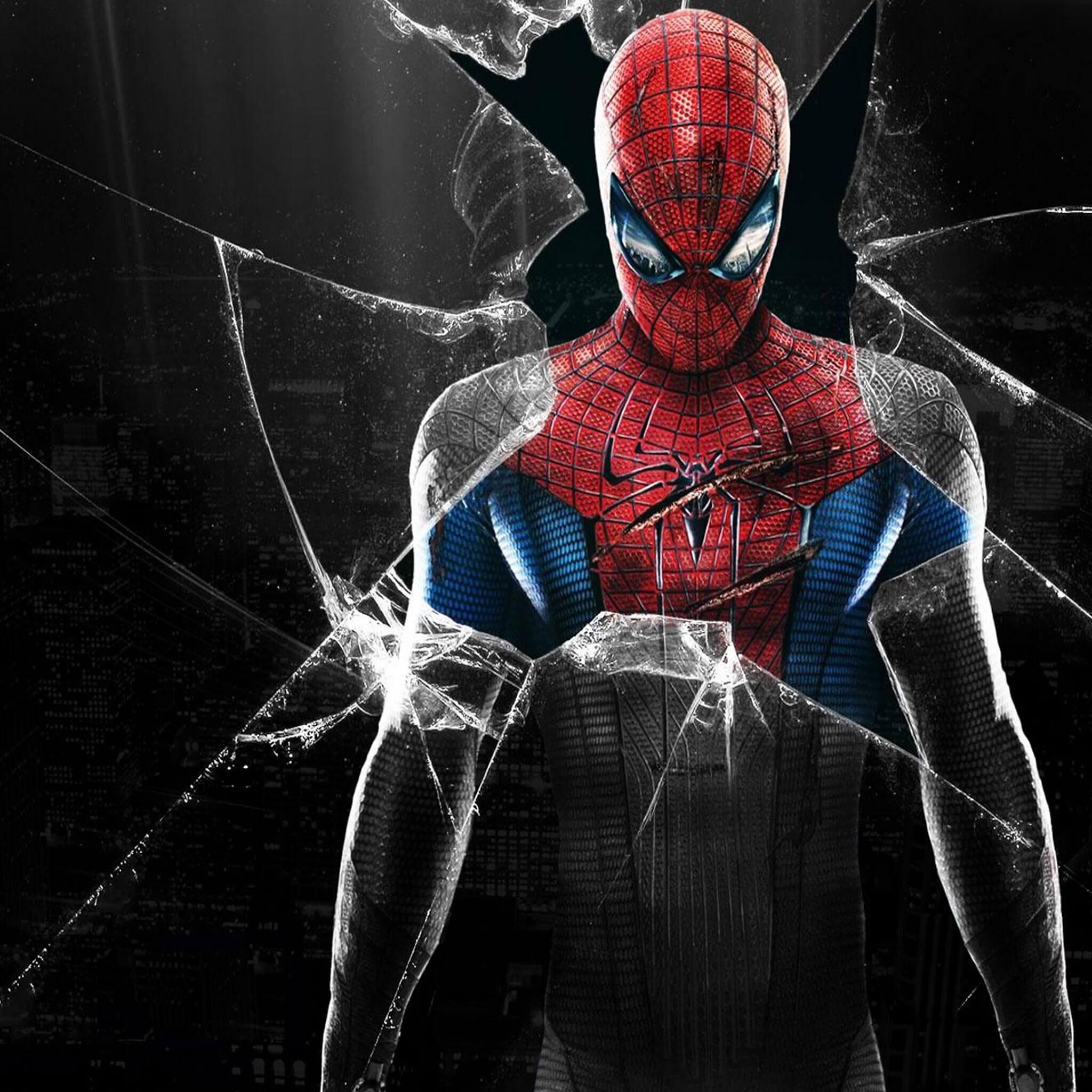 Hd Ipad Retina Wallpapers 10 Fonds D 233 Cran Spiderman Pour Iphone Et Ipad