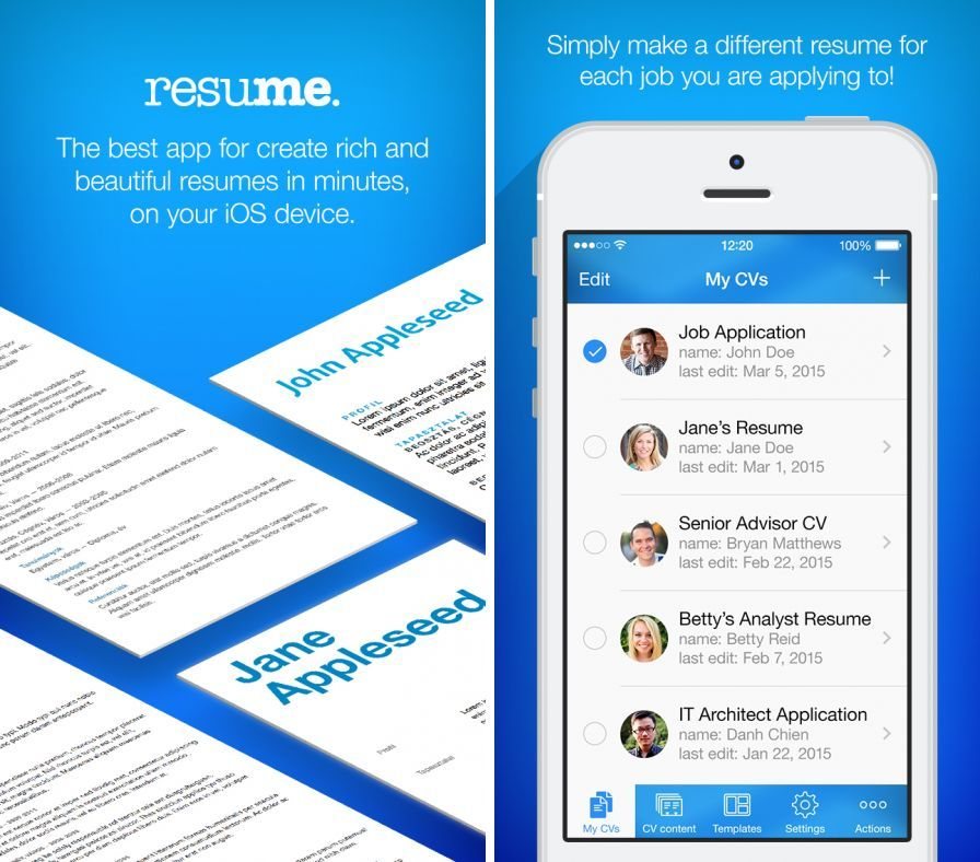 resume maker ipad app write a better resume resume maker individual software resume maker pro cv