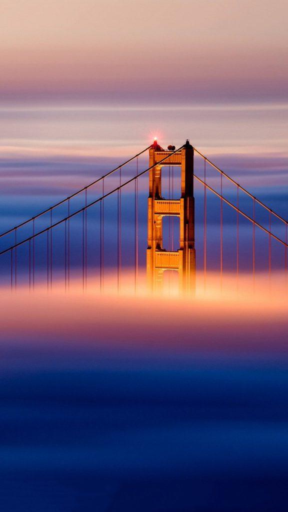 Tooth Cute Wallpaper Golden Gate Bridge Clouds Iphone Wallpaper Iphone Wallpapers