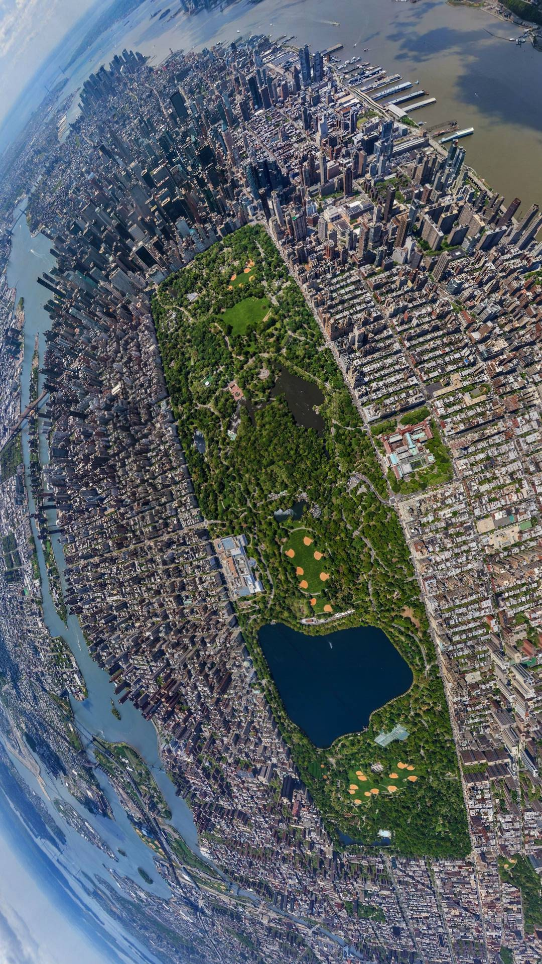 Cute Wallpapers For Girls For Computer Central Park New York City Sky View Iphone Wallpaper