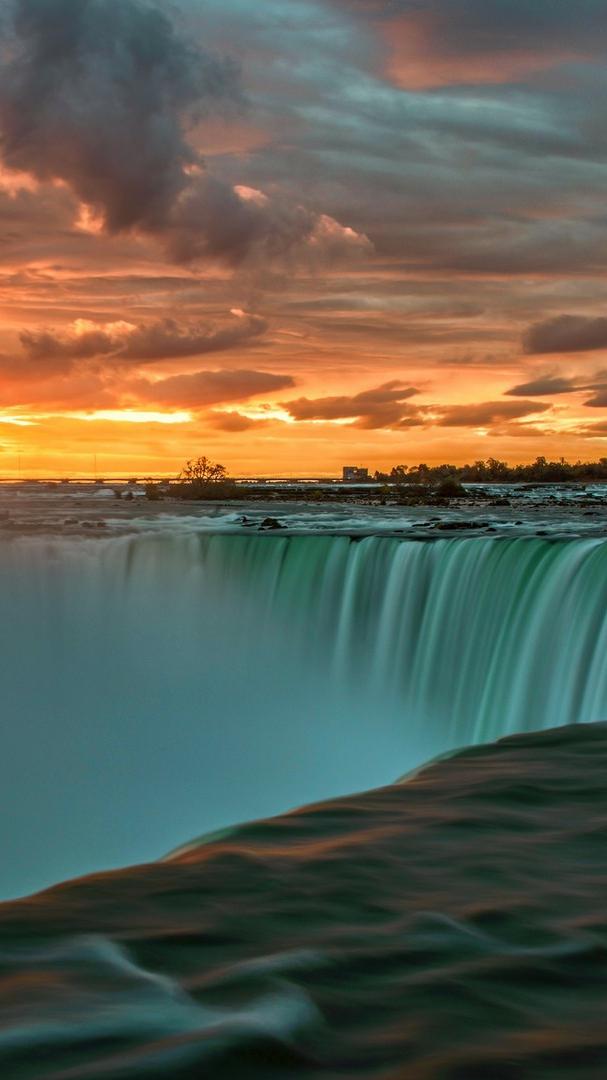 Iphone 6 Wallpaper Love Quotes Niagara Falls Sunset Wallpaper Iphone Wallpaper Iphone