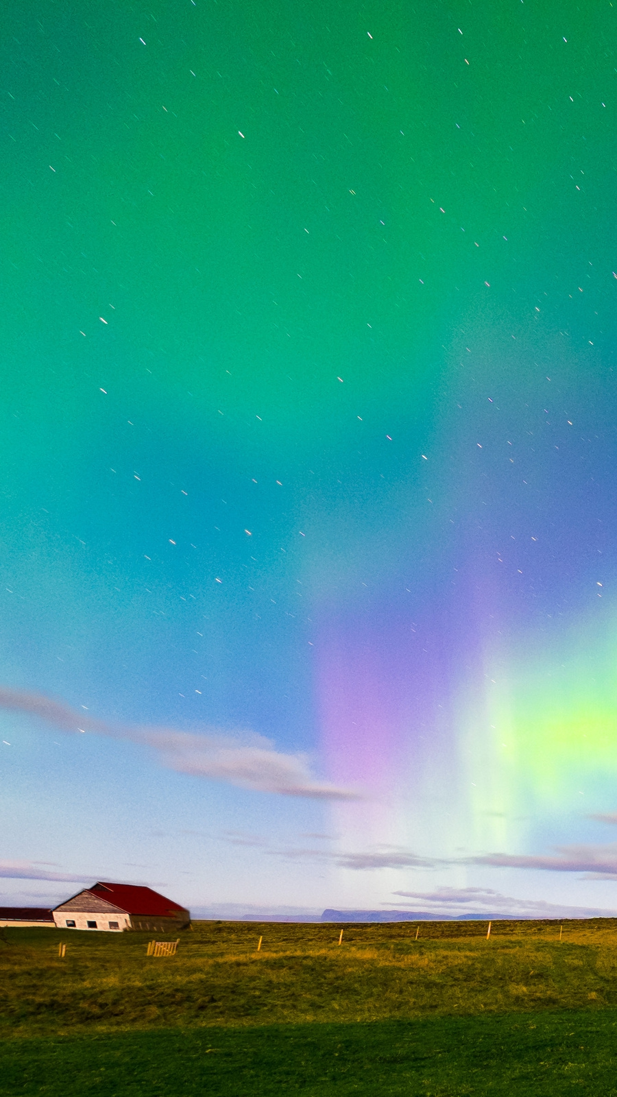 Cute Autumn Wallpaper Iceland Aurora Borealis Northern Lights Iphone Wallpaper