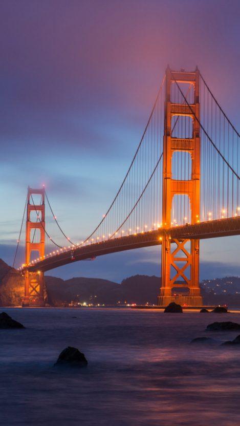 Cute Wallpapers For Iphone 6 Golden Gate Bridge Clouds Iphone Wallpaper Iphone Wallpapers
