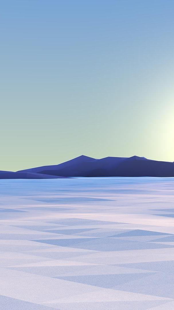 Weed Wallpaper Iphone Minimalistic Winter Polygon Digital Art Iphone Wallpaper